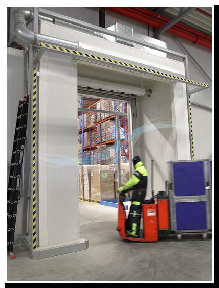 AFIM IGLO® - Air door cold store transport