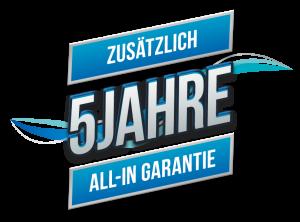 Garantie logo 5 Jahre