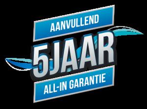 Garantie logo 5 jaar